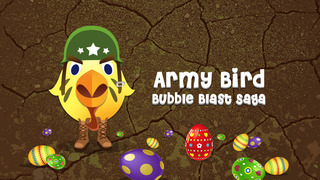 Army Bird Bubble Blast Saga Pro - new brain twister matching game screenshot 1