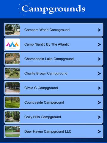 Connecticut Campgrounds screenshot 7