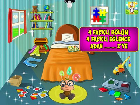 Eğlenceli Harfler ABC - 3 Boyutlu çocuk oyunu screenshot 7
