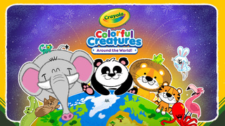 Crayola Colorful Creatures - Around the World! screenshot 1