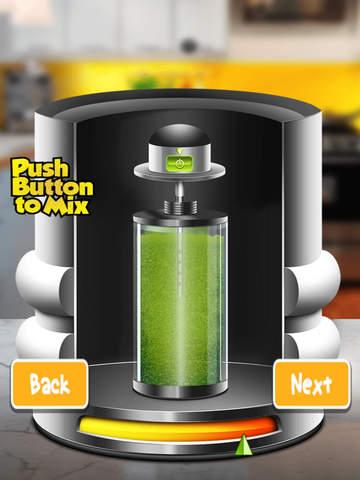 Flavored Slushie Drink Maker - cool kids smoothie drinking game screenshot 9