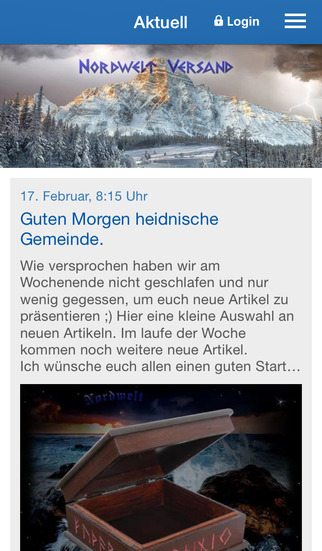 Nordwelt Versand GmbH screenshot 1