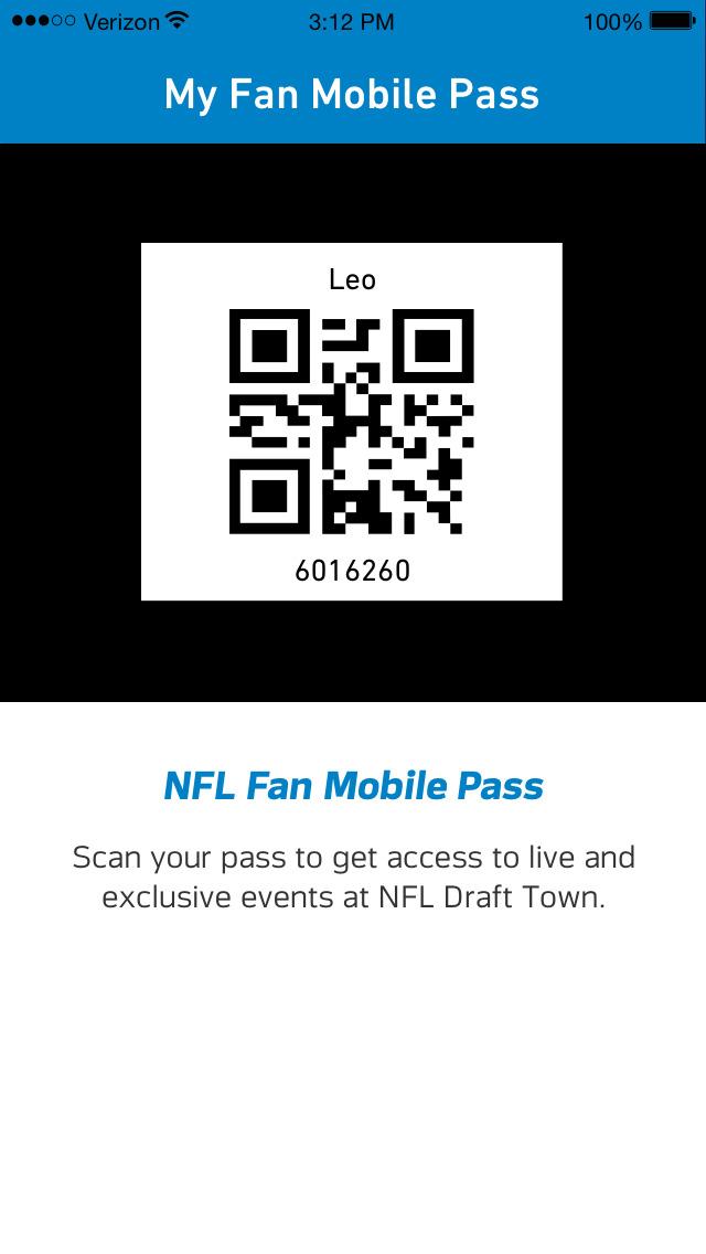 NFL Draft - Fan Mobile Pass screenshot 2