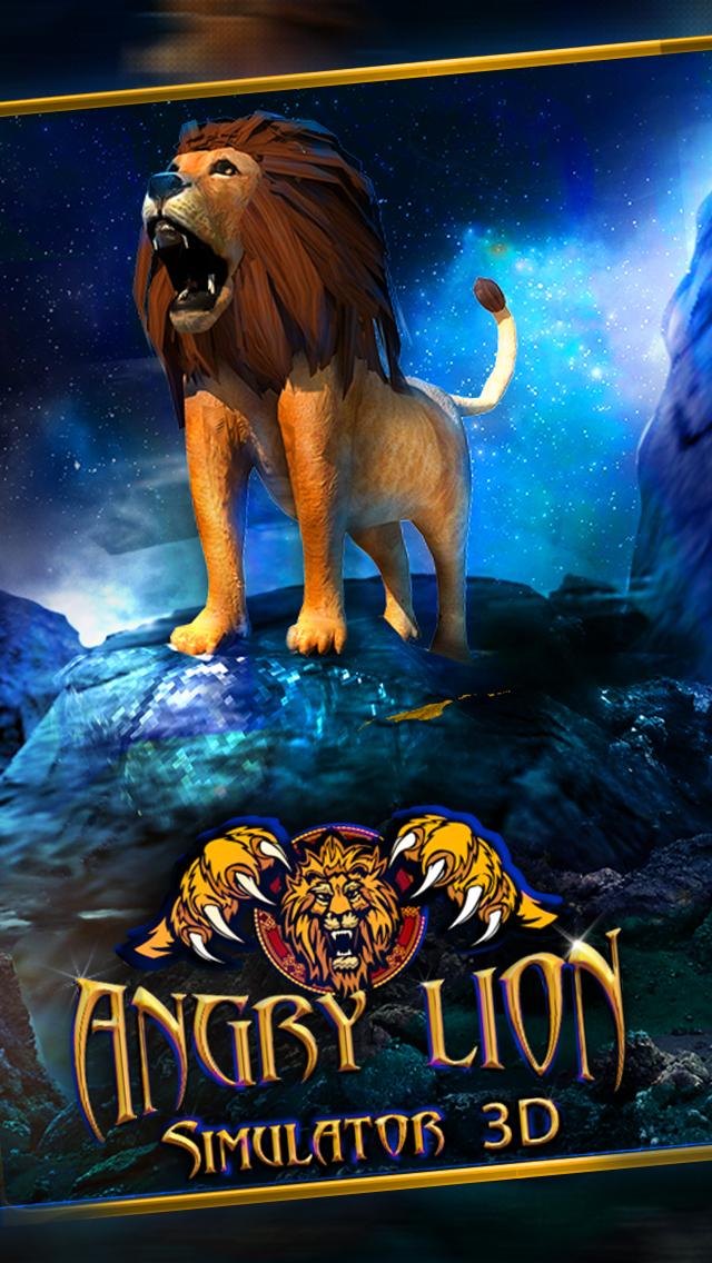 Lion Simulator 3D screenshot 1
