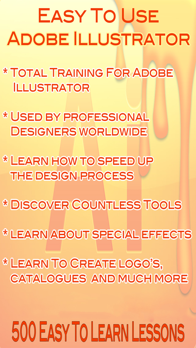 Easy To Learn - Adobe Illustrator Edition screenshot 1