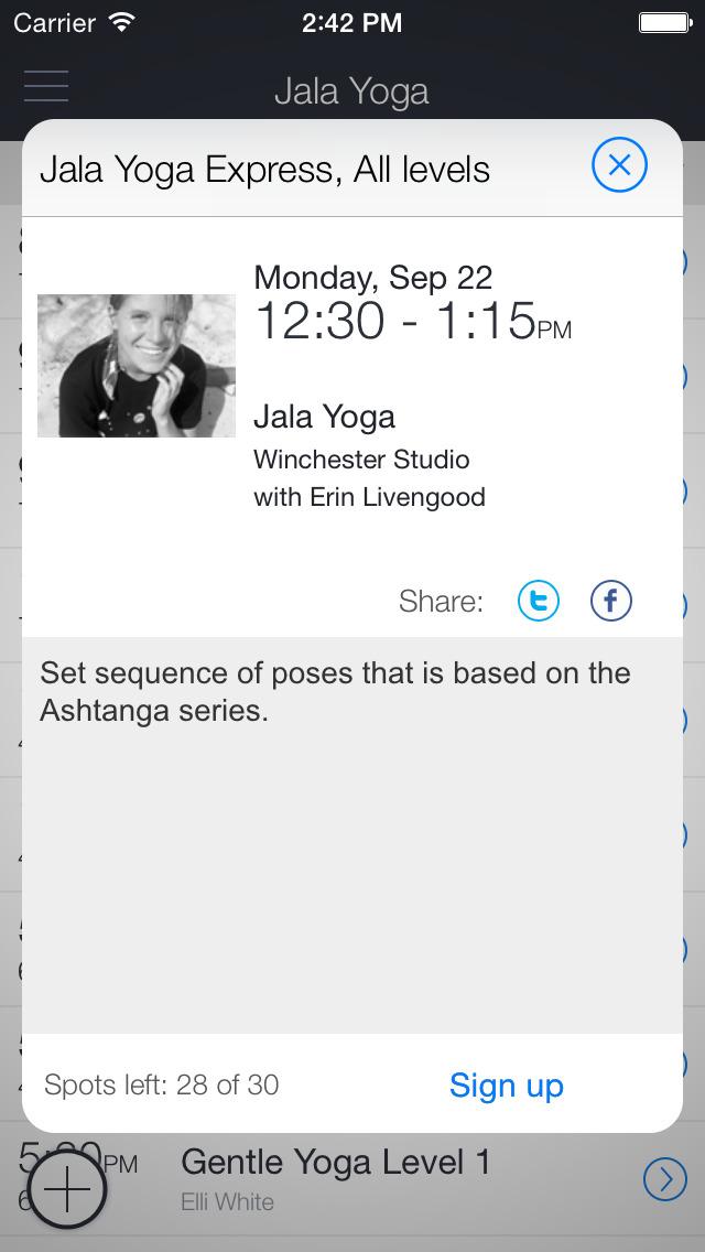 Jala Yoga screenshot 2