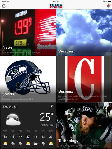 DTWnow: Detroit Local News Weather Sports Traffic screenshot 6