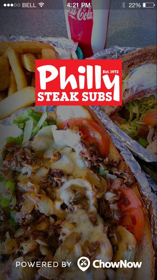 Philly Steak Subs screenshot 1