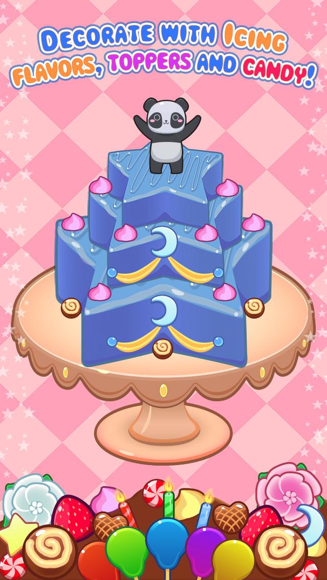 My Cake Maker - Create, Decorate and Eat Sweet Cakes screenshot #3