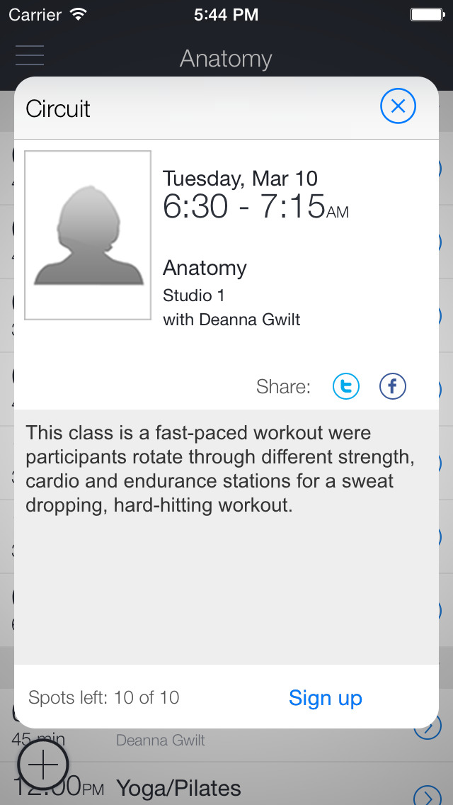 anatomy: an EV Fitness Studio screenshot 2