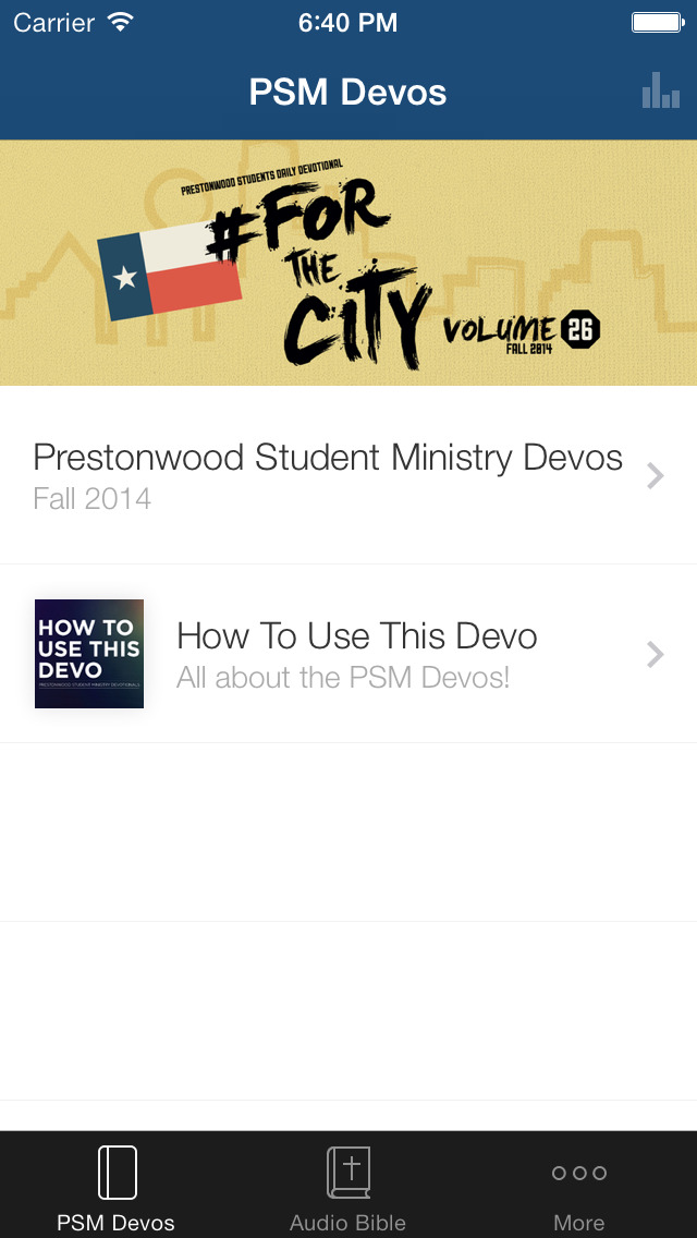 Prestonwood Student Ministry screenshot 1