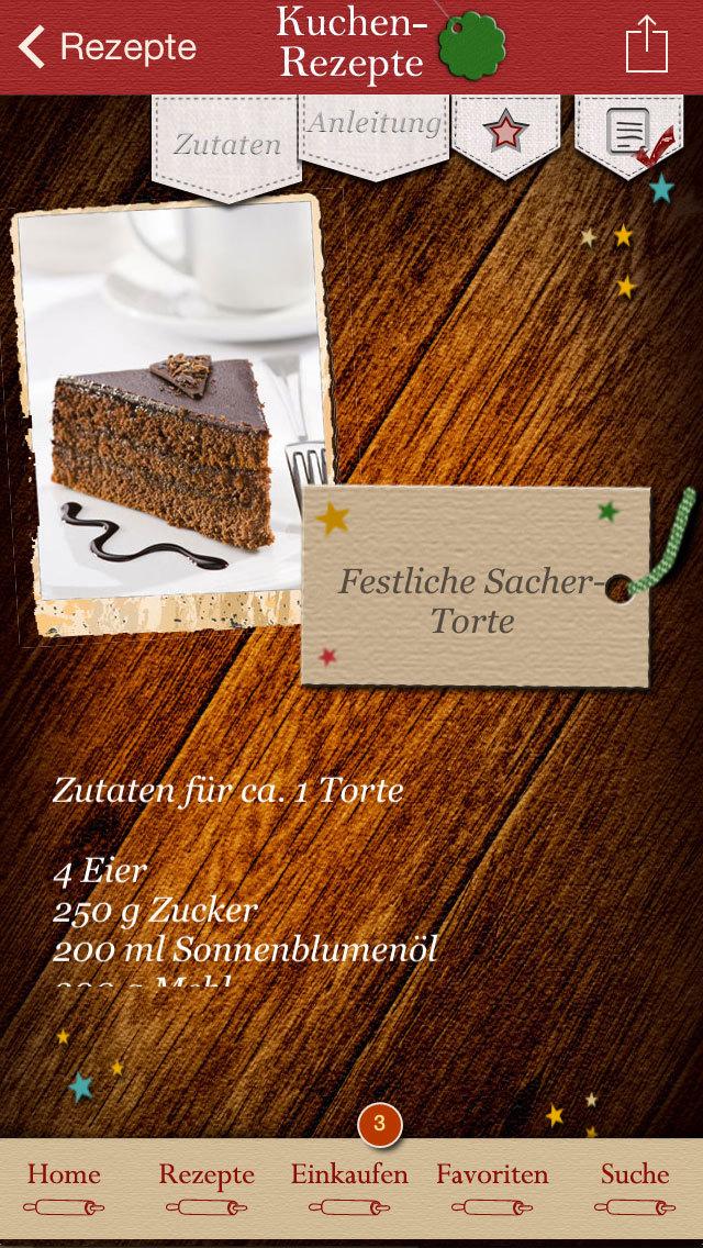 Festliche Kuchen - Rezepte screenshot 4