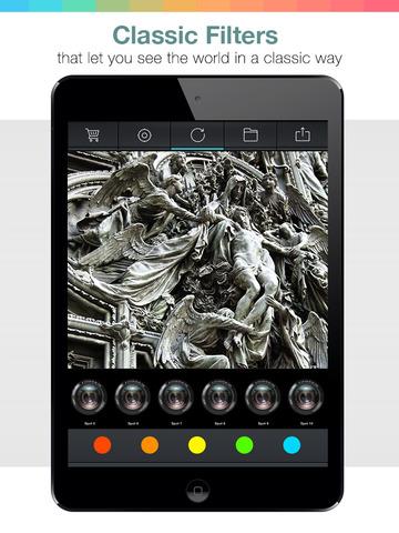 Noir After Light Cam Pro - black and white photo visual creator screenshot 6