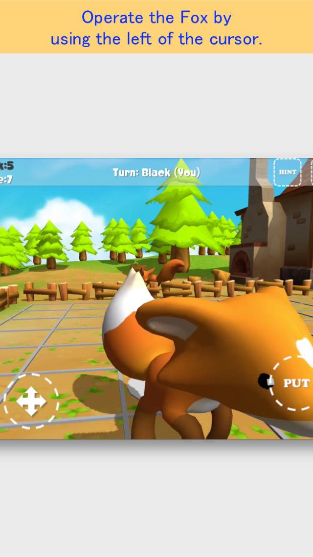 Fox Othello FREE screenshot 2