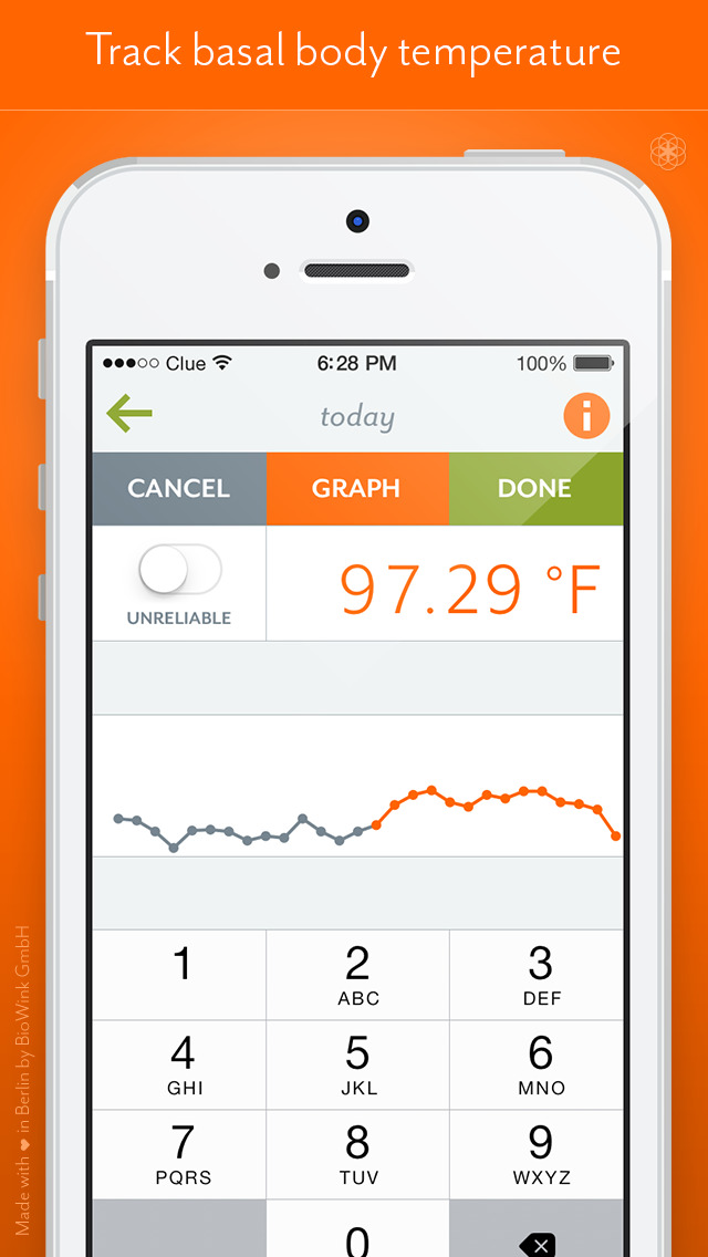 Clue Period & Cycle Tracker screenshot 4