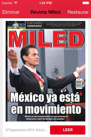Revista Miled - náhled