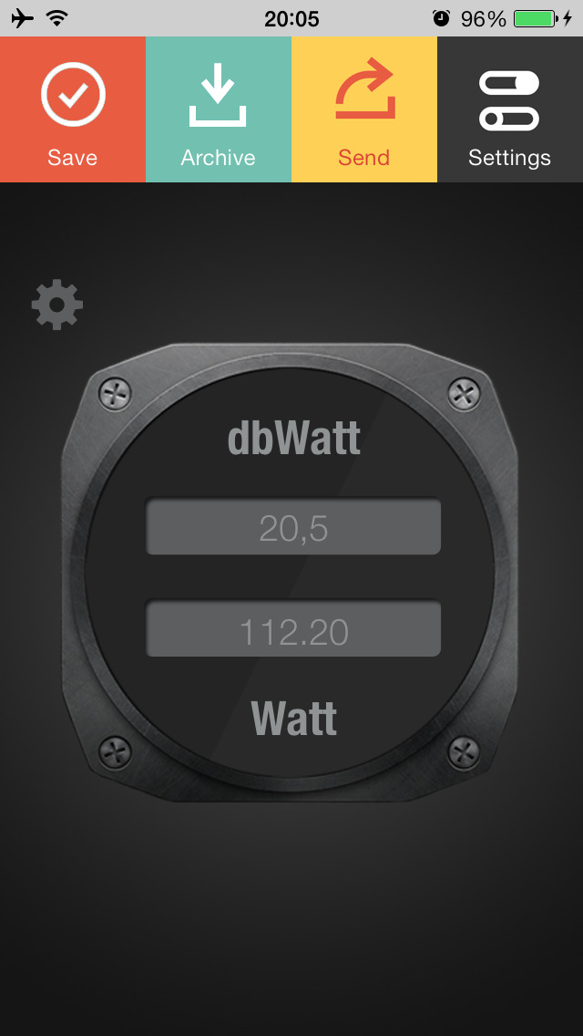 Decibel Watt screenshot 1