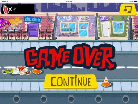 Skater Dude - Racers Game screenshot 8