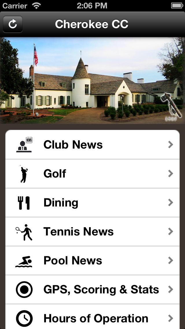 Cherokee Country Club screenshot 2