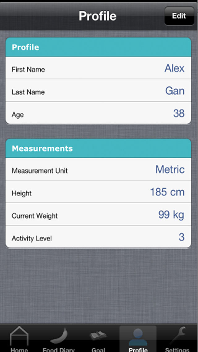 Food Diary - Best Weight Loss Management Tool screenshot 3