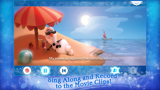 Disney Karaoke: Frozen screenshot 3