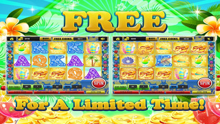 Ace Beach Vacation Slots Casino - Big Island Extreme Jackpot Slot Machine Games Free screenshot 5