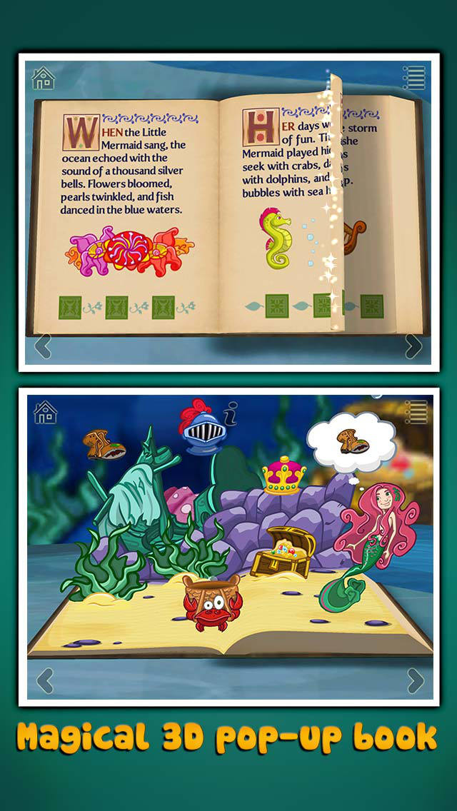 StoryToys Little Mermaid screenshot 1