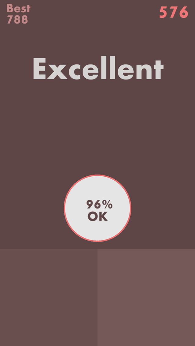 90% Ok - Fit the Circle ! screenshot 1