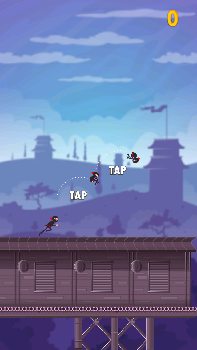 A Ninja Warrior Run Game screenshot 2