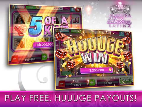 Nuestra Belleza Latina Casino - FREE Slots, Blackjack & Video Poker screenshot 8