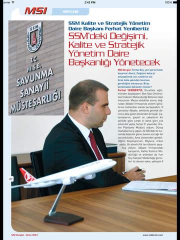 MSI Dergisi screenshot 7