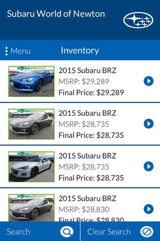 Subaru World of Newton - náhled