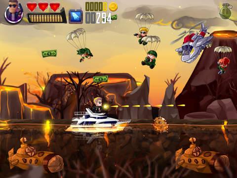 Ramboat: Shooting Offline Game screenshot 7