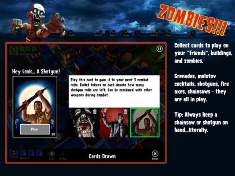 Zombies !!! ® Board Game screenshot 9