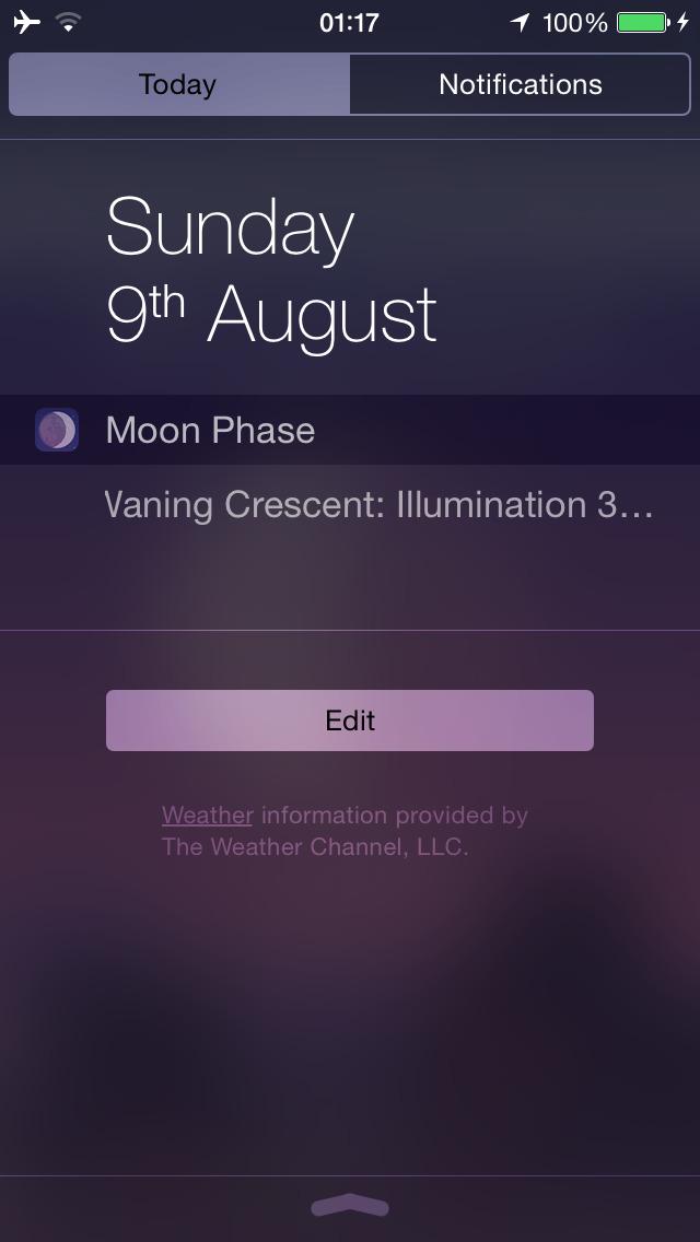The Moon phases screenshot 4