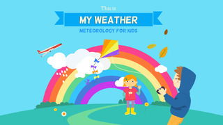 This is my Weather - Meteorology for Kids screenshot 1