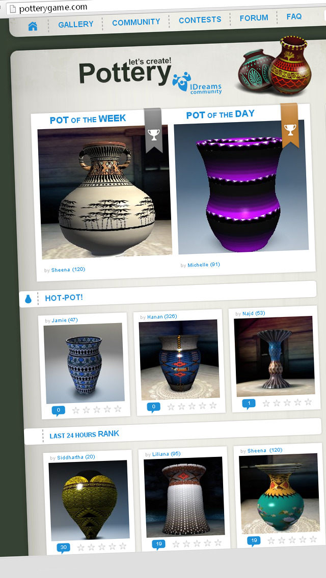 Let's create! Pottery HD screenshot #4