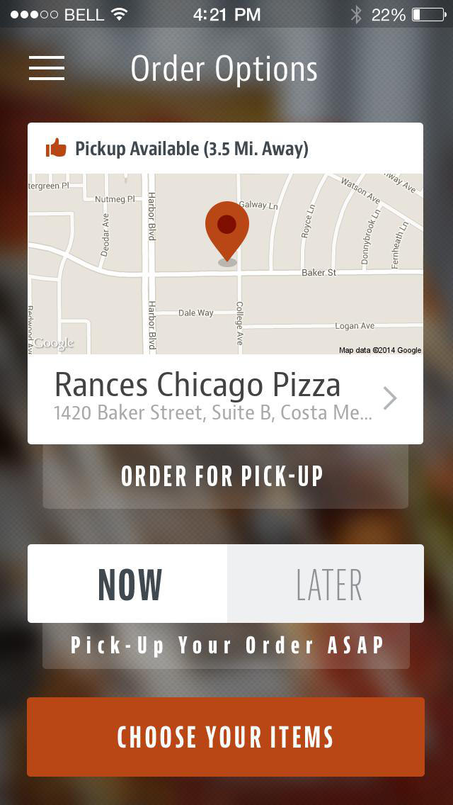 Rance's Chicago Pizza screenshot 2