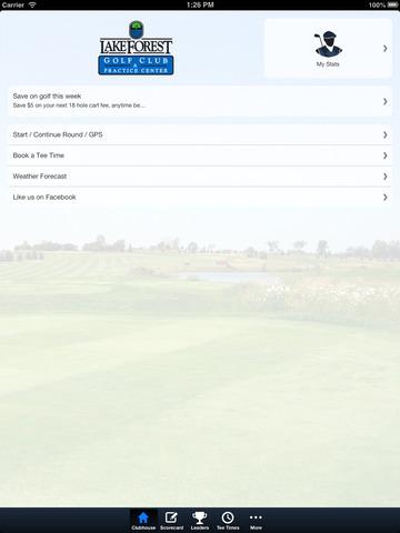 Lake Forest Golf Club screenshot 7