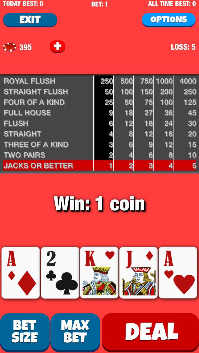 Best Video Poker screenshot 2