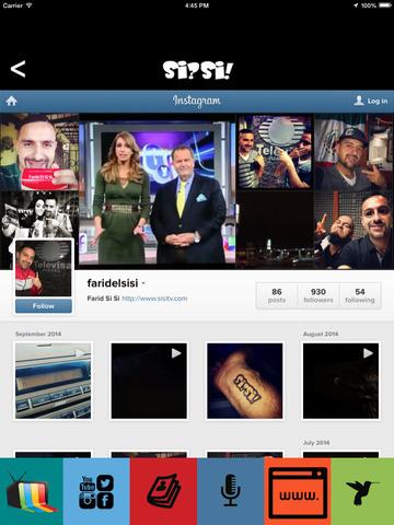 Farid El reportero en la Frontera de El Gordo y La Flaca - Si Si version screenshot 8