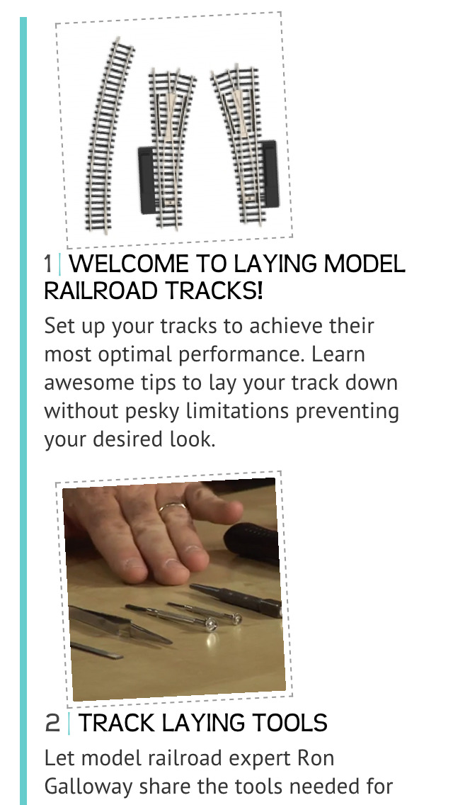 Laying Model Railroad Tracks screenshot 2