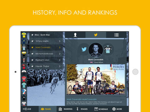 Cycling App - Tour de France 2016 edition Pro screenshot 7