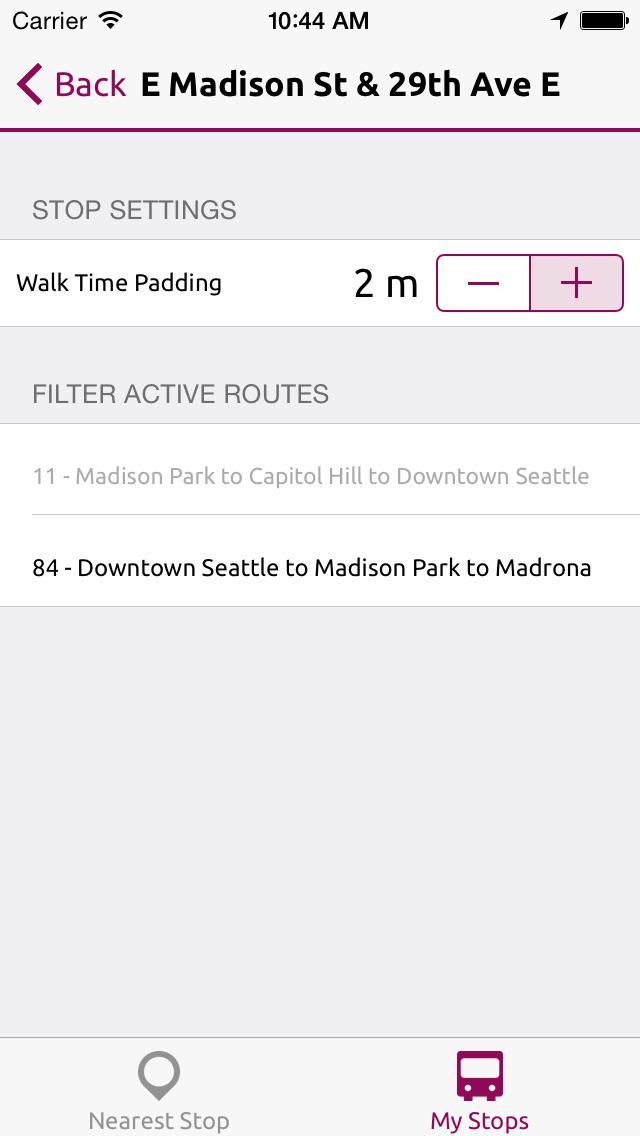 BusMe — Puget Sound Bus Departures screenshot 5