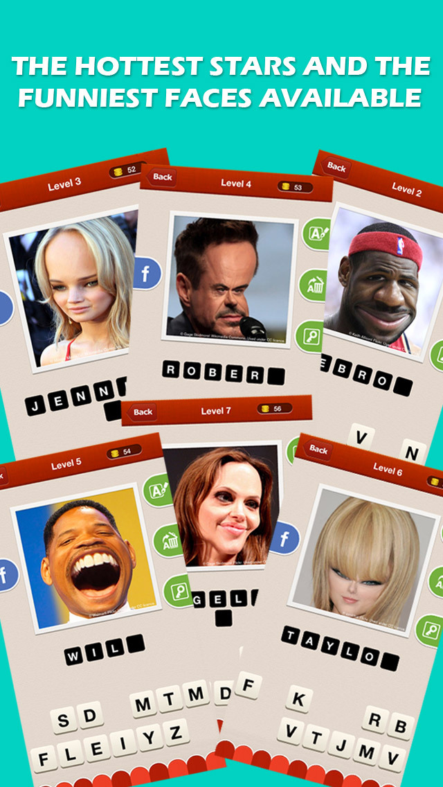 Pop Celeb Quiz - Guess Who's the Celebrity in the Funny Picture screenshot 2
