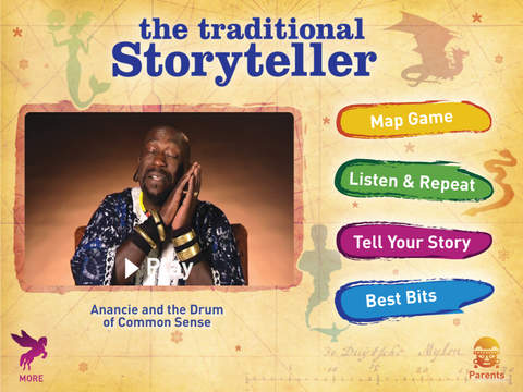 The Traditional Storyteller - Anancie and the Drum of Common Sense screenshot 6