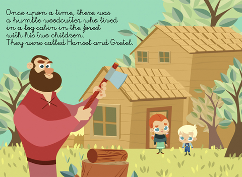 Hansel & Gretel - Multi Language book screenshot 6