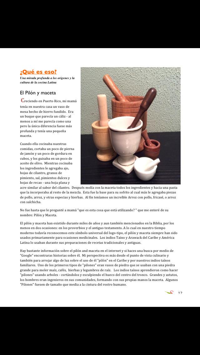 Sofrito Magazine En Español screenshot 2