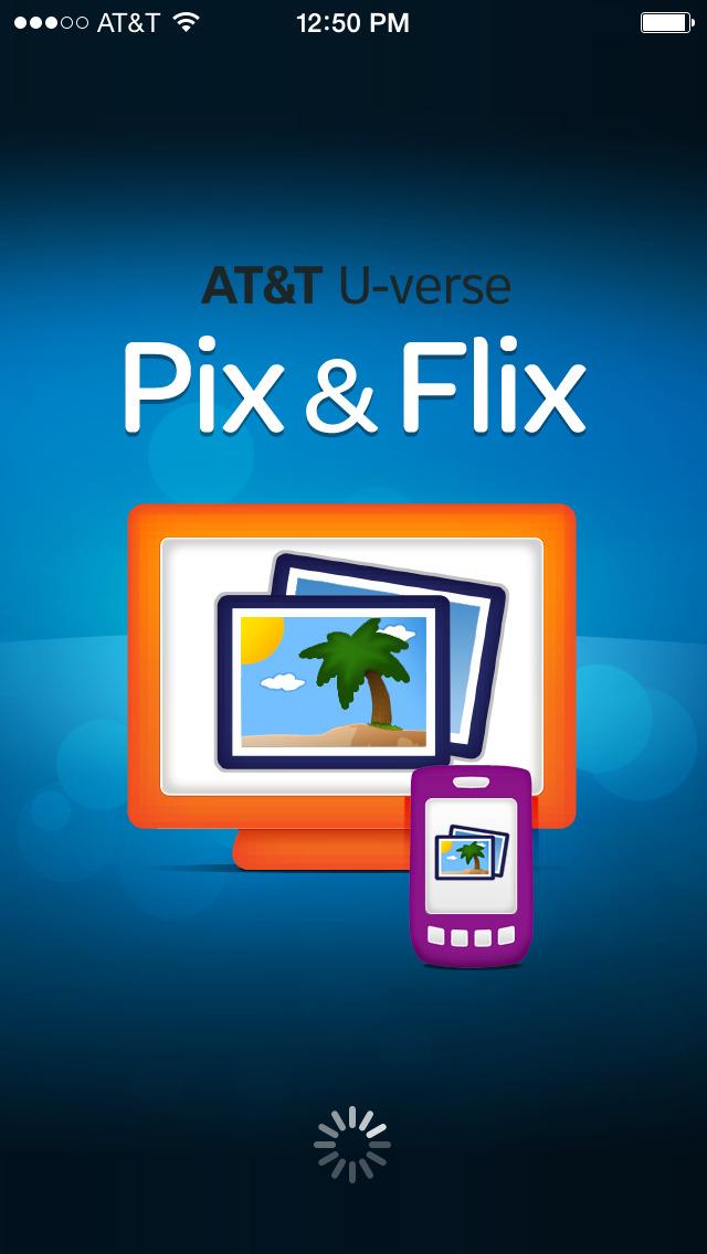 U-verse Pix & Flix screenshot 1