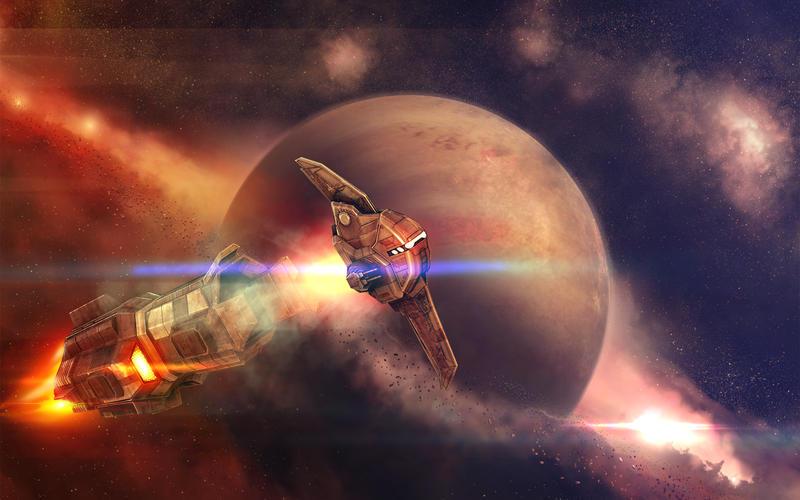 Beyond Space Remastered screenshot 2
